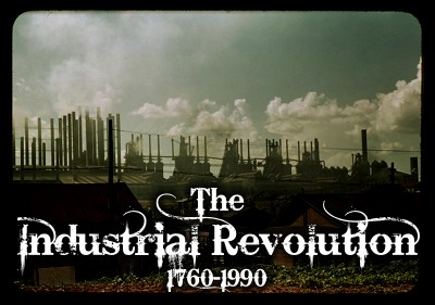 The Industrial Revolution is over