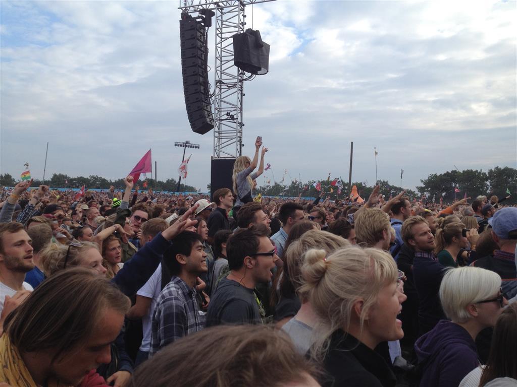 Roskilde Festival Crowd