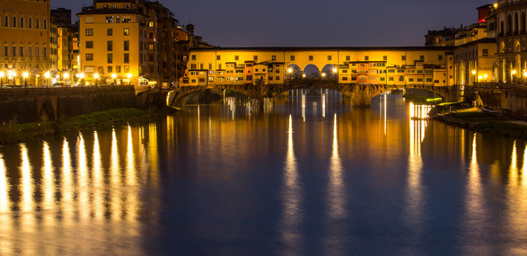 Ponte Vecchio At Night – Weekly Travel Photo