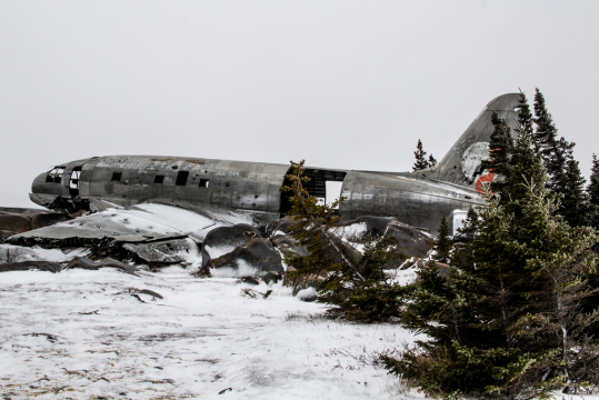 Churchill's Crashed Curtiss C-46 – Weekly Travel Photo