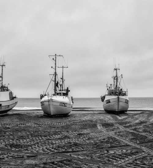 The Bay Denmark Fishing Ships