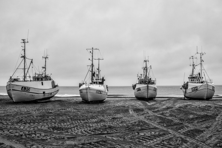 Fishing Boats Dragged Ashore – Weekly Travel Photo & Product Review