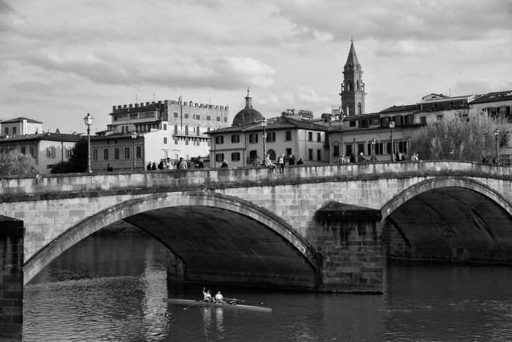 Florence in Black and White – Weekly Travel Photo & Product Review