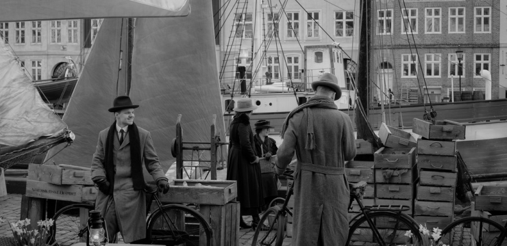 Nyhavn Transported Through Time