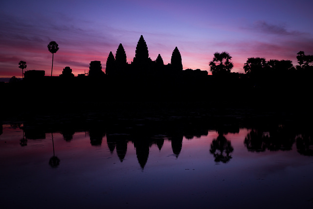 Sunrise over Angkor Wat by Alex Berger