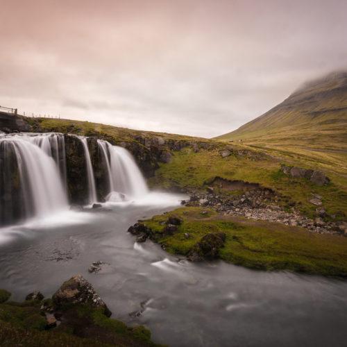 Snæfellsnes Waterfall by Alex Berger