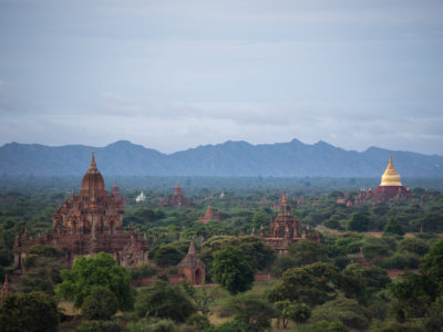 The Ruins of Bagan by Alex Berger