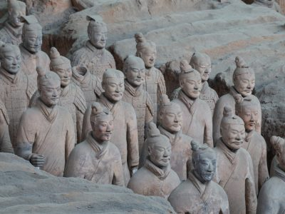 Xi'an Terracotta Warriors by Alex Berger