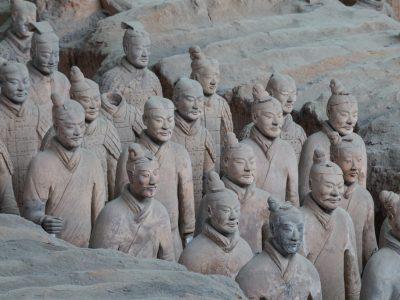 Xi'an Terracotta Warriors by Alex Berger